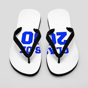 CLASS OF 2030-Fre blue 300 Flip Flops
