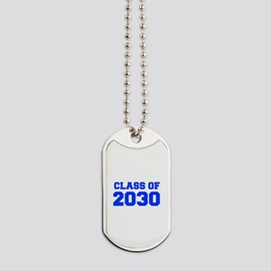 CLASS OF 2030-Fre blue 300 Dog Tags