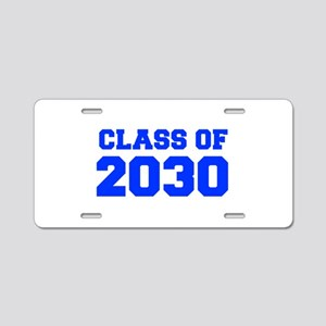 CLASS OF 2030-Fre blue 300 Aluminum License Plate