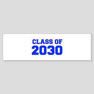 CLASS OF 2030-Fre blue 300 Bumper Sticker