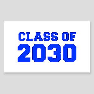 CLASS OF 2030-Fre blue 300 Sticker