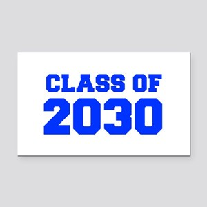 CLASS OF 2030-Fre blue 300 Rectangle Car Magnet