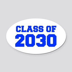 CLASS OF 2030-Fre blue 300 Oval Car Magnet