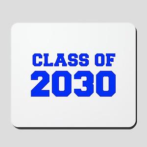CLASS OF 2030-Fre blue 300 Mousepad
