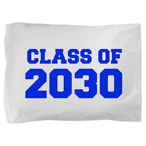 CLASS OF 2030-Fre blue 300 Pillow Sham