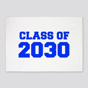 CLASS OF 2030-Fre blue 300 5'x7'Area Rug