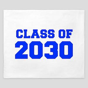 CLASS OF 2030-Fre blue 300 King Duvet