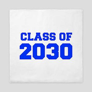 CLASS OF 2030-Fre blue 300 Queen Duvet