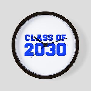 CLASS OF 2030-Fre blue 300 Wall Clock