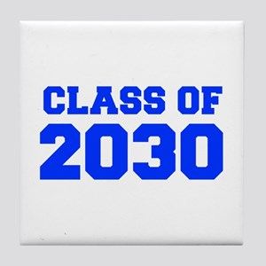 CLASS OF 2030-Fre blue 300 Tile Coaster