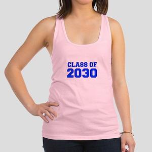 CLASS OF 2030-Fre blue 300 Racerback Tank Top