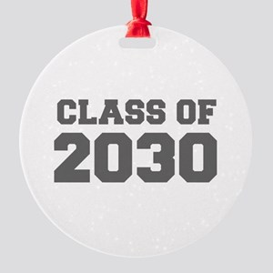 CLASS OF 2030-Fre gray 300 Ornament
