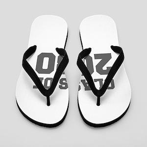 CLASS OF 2030-Fre gray 300 Flip Flops