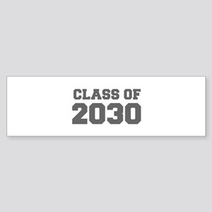 CLASS OF 2030-Fre gray 300 Bumper Sticker