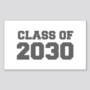 CLASS OF 2030-Fre gray 300 Sticker