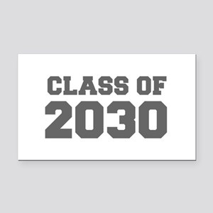 CLASS OF 2030-Fre gray 300 Rectangle Car Magnet
