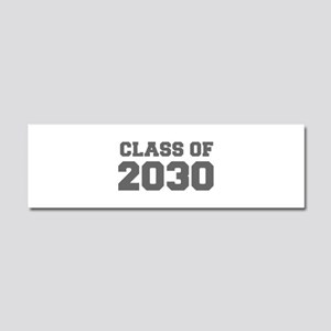 CLASS OF 2030-Fre gray 300 Car Magnet 10 x 3