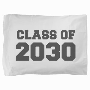CLASS OF 2030-Fre gray 300 Pillow Sham