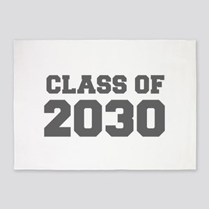 CLASS OF 2030-Fre gray 300 5'x7'Area Rug
