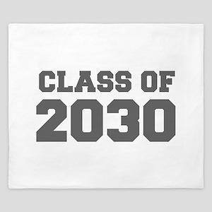 CLASS OF 2030-Fre gray 300 King Duvet