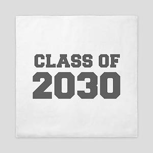 CLASS OF 2030-Fre gray 300 Queen Duvet