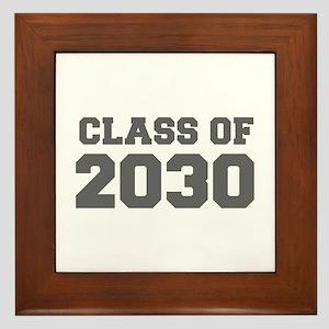CLASS OF 2030-Fre gray 300 Framed Tile