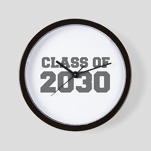 CLASS OF 2030-Fre gray 300 Wall Clock