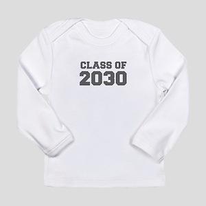CLASS OF 2030-Fre gray 300 Long Sleeve T-Shirt
