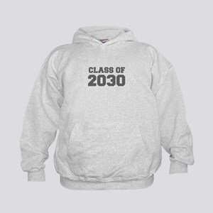 CLASS OF 2030-Fre gray 300 Hoodie