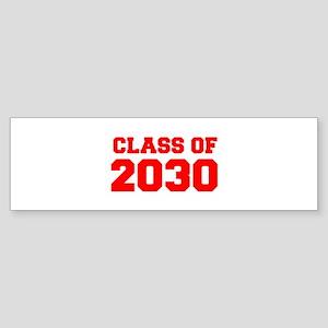 CLASS OF 2030-Fre red 300 Bumper Sticker