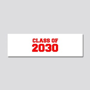 CLASS OF 2030-Fre red 300 Car Magnet 10 x 3