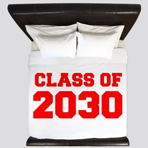 CLASS OF 2030-Fre red 300 King Duvet