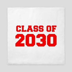 CLASS OF 2030-Fre red 300 Queen Duvet