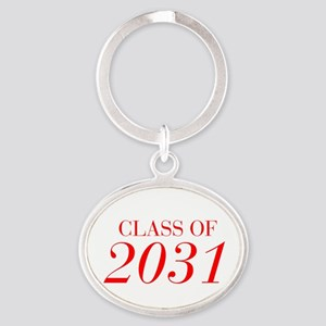 CLASS OF 2031-Bau red 501 Keychains