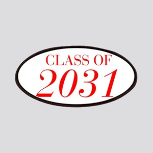 CLASS OF 2031-Bau red 501 Patch