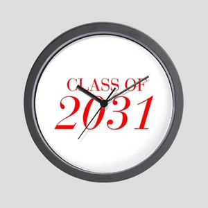 CLASS OF 2031-Bau red 501 Wall Clock