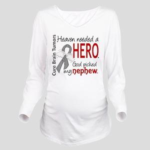 Brain Tumor HeavenNe Long Sleeve Maternity T-Shirt