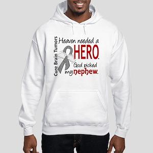 Brain Tumor HeavenNeededHero1 Hooded Sweatshirt