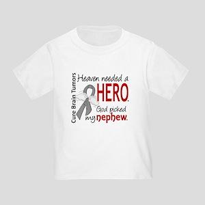 Brain Tumor HeavenNeededHero1 Toddler T-Shirt