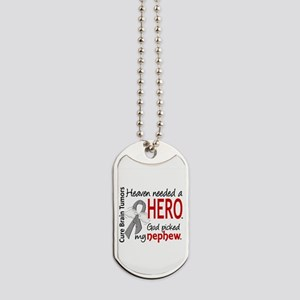 Brain Tumor HeavenNeededHero1 Dog Tags