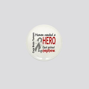 Brain Tumor HeavenNeededHero1 Mini Button