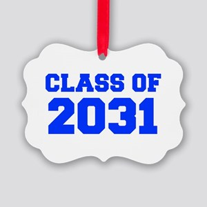 CLASS OF 2031-Fre blue 300 Ornament