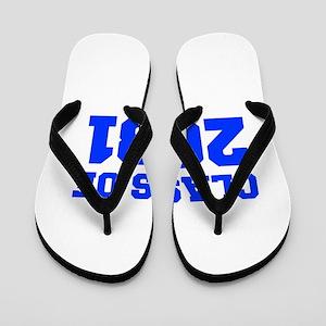 CLASS OF 2031-Fre blue 300 Flip Flops