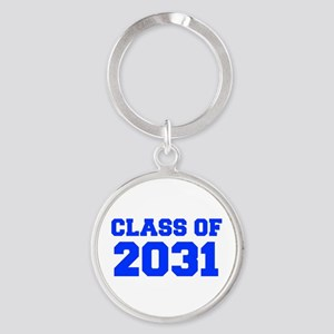 CLASS OF 2031-Fre blue 300 Keychains