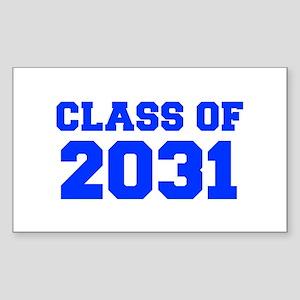 CLASS OF 2031-Fre blue 300 Sticker