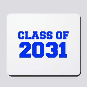 CLASS OF 2031-Fre blue 300 Mousepad