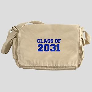 CLASS OF 2031-Fre blue 300 Messenger Bag