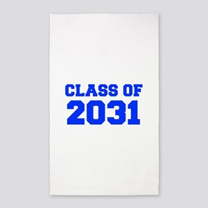 CLASS OF 2031-Fre blue 300 Area Rug