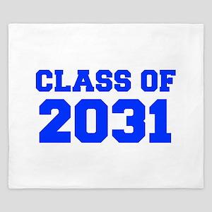 CLASS OF 2031-Fre blue 300 King Duvet