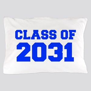 CLASS OF 2031-Fre blue 300 Pillow Case